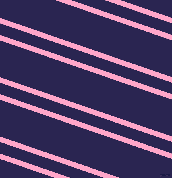 161 degree angles dual stripes lines, 18 pixel lines width, 38 and 121 pixels line spacing, Carnation Pink and Paua dual two line striped seamless tileable