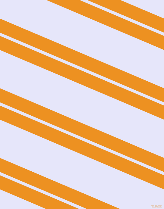 157 degree angles dual striped lines, 43 pixel lines width, 10 and 117 pixels line spacing, Carrot Orange and Lavender dual two line striped seamless tileable