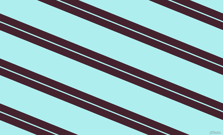 158 degree angles dual stripes line, 23 pixel line width, 4 and 85 pixels line spacing, Castro and Pale Turquoise dual two line striped seamless tileable