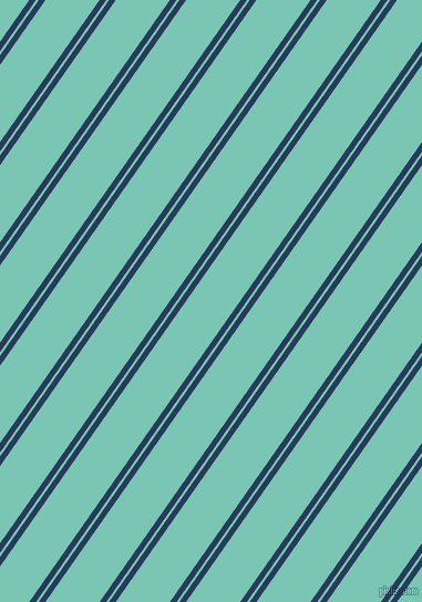 55 degree angle dual stripe lines, 5 pixel lines width, 2 and 40 pixel line spacing, Catalina Blue and Monte Carlo dual two line striped seamless tileable