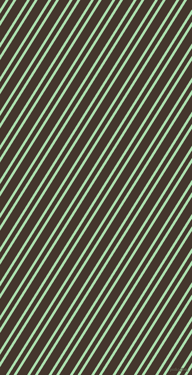 58 degree angle dual stripe line, 5 pixel line width, 8 and 18 pixel line spacing, Celadon and Tobago dual two line striped seamless tileable