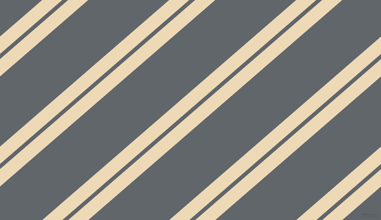 41 degree angle dual striped lines, 27 pixel lines width, 8 and 109 pixel line spacing, Champagne and Shuttle Grey dual two line striped seamless tileable