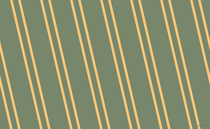 103 degree angles dual stripe lines, 8 pixel lines width, 18 and 63 pixels line spacing, Chardonnay and Camouflage Green dual two line striped seamless tileable
