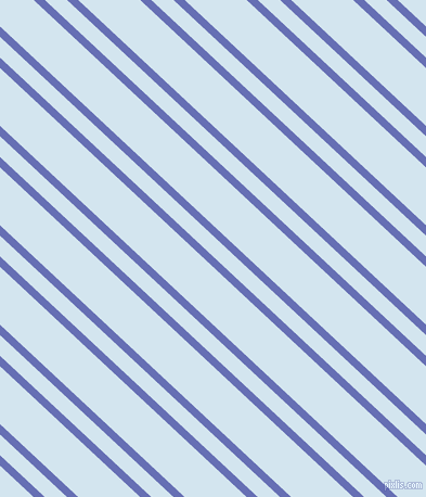 137 degree angle dual stripes line, 7 pixel line width, 14 and 39 pixel line spacing, Chetwode Blue and Pattens Blue dual two line striped seamless tileable