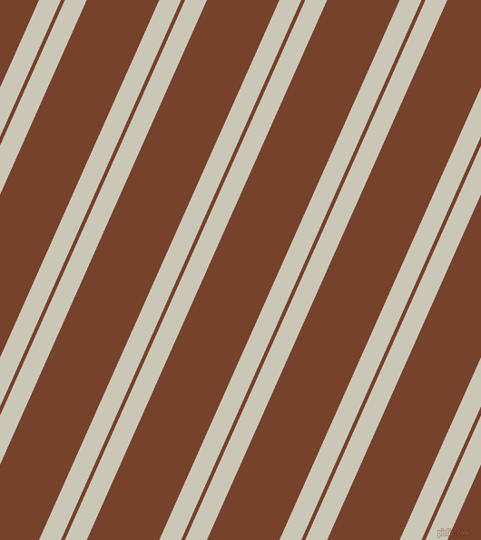 66 degree angles dual stripes lines, 22 pixel lines width, 4 and 73 pixels line spacing, Chrome White and Copper Canyon dual two line striped seamless tileable