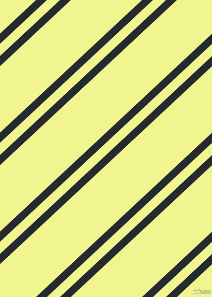 43 degree angles dual striped line, 15 pixel line width, 18 and 98 pixels line spacing, Cinder and Tidal dual two line striped seamless tileable