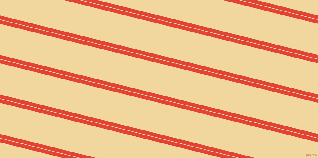 166 degree angle dual stripes lines, 12 pixel lines width, 2 and 98 pixel line spacing, Cinnabar and Splash dual two line striped seamless tileable