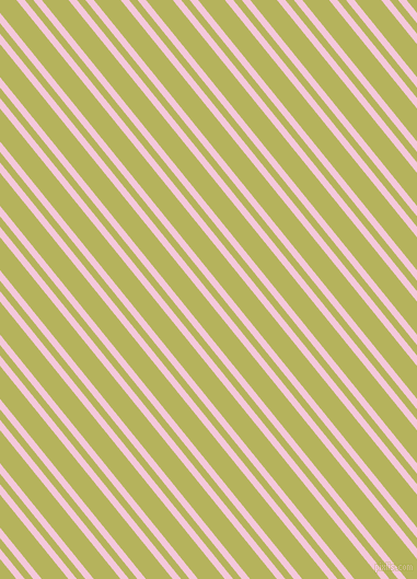 129 degree angles dual stripe line, 6 pixel line width, 6 and 19 pixels line spacing, Classic Rose and Olive Green dual two line striped seamless tileable