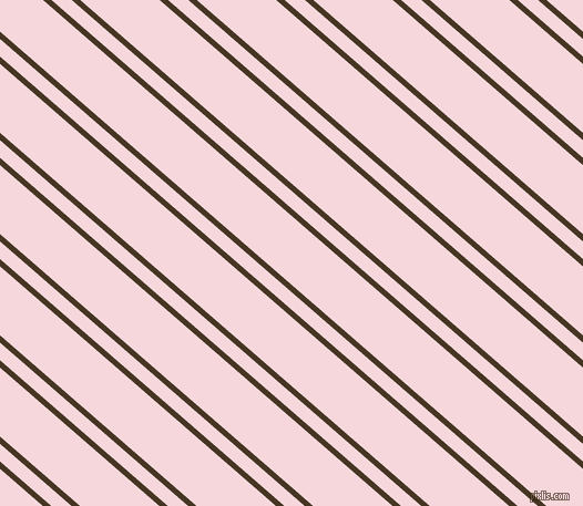 139 degree angles dual striped lines, 5 pixel lines width, 12 and 47 pixels line spacing, Clinker and Cherub dual two line striped seamless tileable