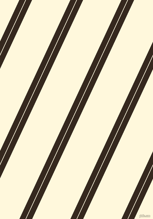 65 degree angle dual stripe line, 18 pixel line width, 2 and 114 pixel line spacing, Cocoa Brown and Corn Silk dual two line striped seamless tileable