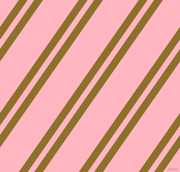 55 degree angles dual stripe line, 24 pixel line width, 18 and 98 pixels line spacing, Corn Harvest and Light Pink dual two line striped seamless tileable