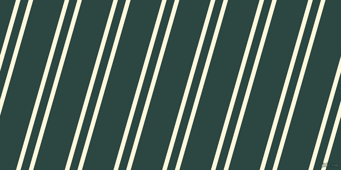 74 degree angles dual striped line, 9 pixel line width, 16 and 62 pixels line spacingCorn Silk and Gable Green dual two line striped seamless tileable