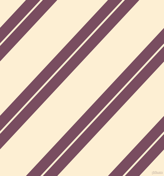 47 degree angle dual stripes line, 35 pixel line width, 6 and 123 pixel line spacing, Cosmic and Varden dual two line striped seamless tileable