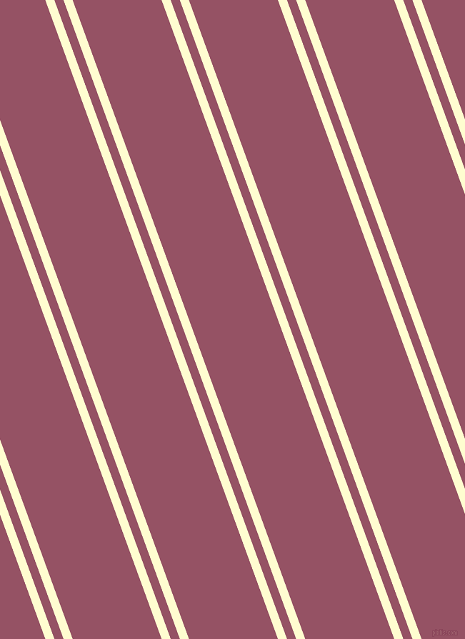 110 degree angles dual striped lines, 12 pixel lines width, 12 and 117 pixels line spacing, Cream and Vin Rouge dual two line striped seamless tileable