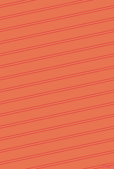 12 degree angle dual stripes line, 1 pixel line width, 6 and 31 pixel line spacing, Crimson and Burnt Sienna dual two line striped seamless tileable