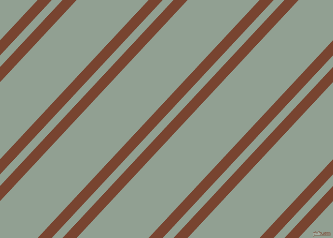47 degree angle dual stripe lines, 21 pixel lines width, 16 and 107 pixel line spacing, Cumin and Pewter dual two line striped seamless tileable