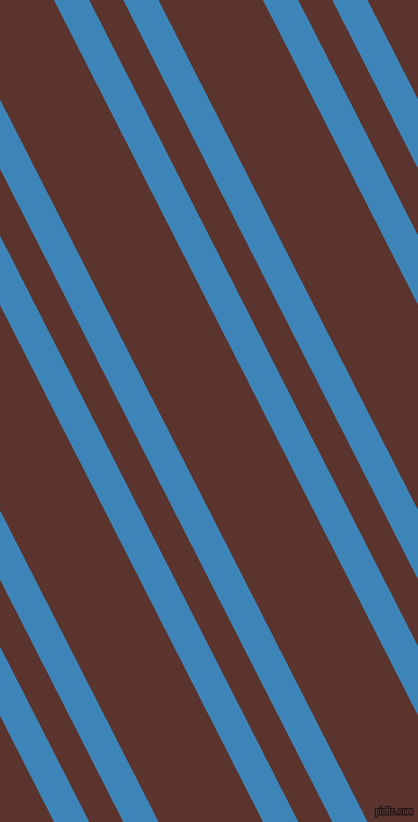 117 degree angles dual stripe line, 29 pixel line width, 28 and 86 pixels line spacing, Curious Blue and Redwood dual two line striped seamless tileable