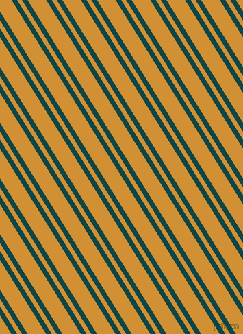 122 degree angles dual striped line, 7 pixel line width, 6 and 23 pixels line spacing, Cyprus and Fuel Yellow dual two line striped seamless tileable