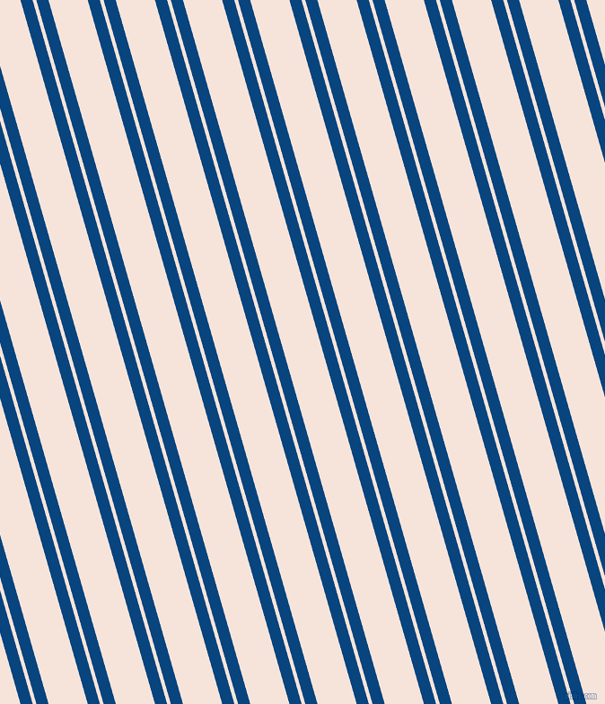 106 degree angle dual stripe lines, 13 pixel lines width, 4 and 42 pixel line spacing, Dark Cerulean and Provincial Pink dual two line striped seamless tileable