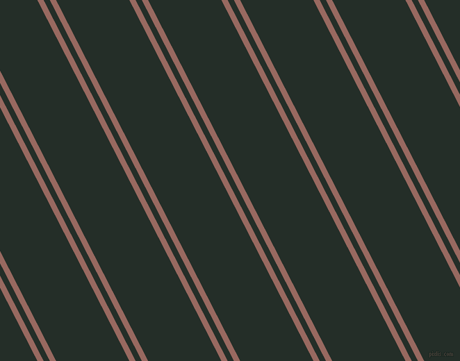 117 degree angle dual stripes line, 8 pixel line width, 8 and 94 pixel line spacing, Dark Chestnut and Midnight Moss dual two line striped seamless tileable