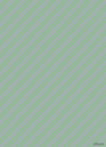 46 degree angle dual stripe lines, 5 pixel lines width, 4 and 15 pixel line spacing, Dark Sea Green and Conch dual two line striped seamless tileable