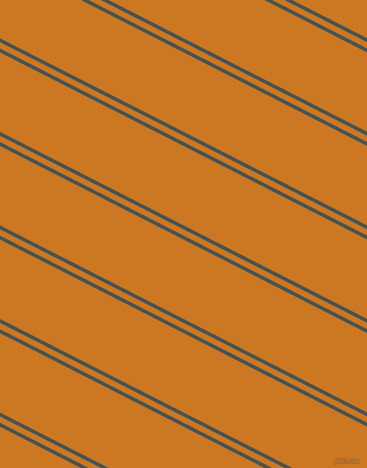 153 degree angle dual striped line, 5 pixel line width, 8 and 101 pixel line spacing, Dark Slate and Ochre dual two line striped seamless tileable