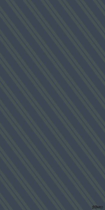 127 degree angle dual striped lines, 9 pixel lines width, 4 and 25 pixel line spacing, Dark Slate and Rhino dual two line striped seamless tileable