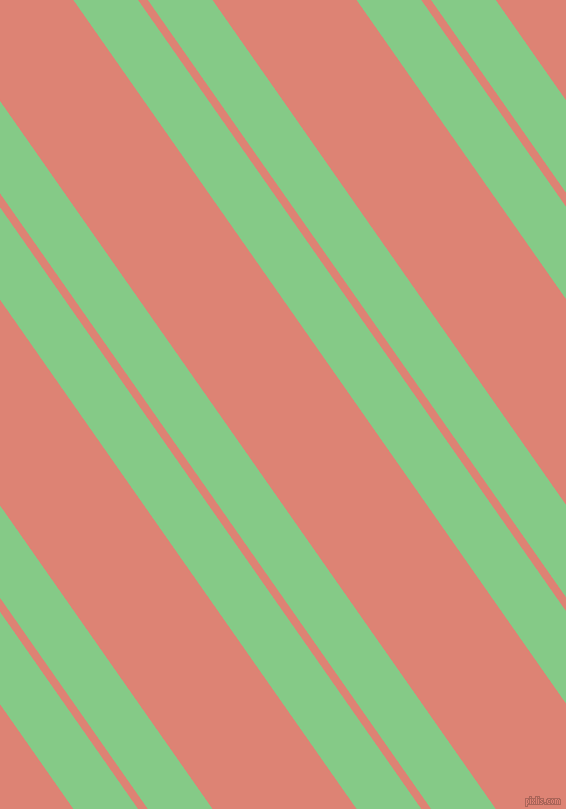 125 degree angles dual stripes lines, 53 pixel lines width, 8 and 118 pixels line spacing, De York and New York Pink dual two line striped seamless tileable