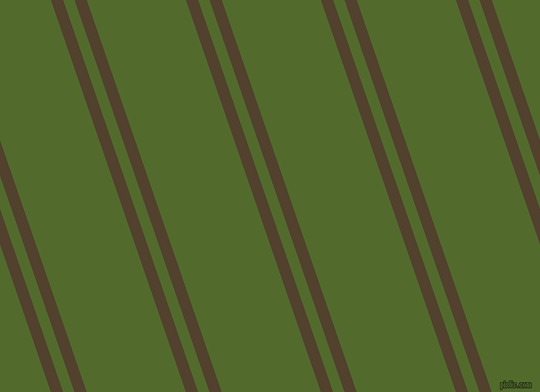 109 degree angle dual stripe line, 13 pixel line width, 12 and 105 pixel line spacing, Deep Bronze and Green Leaf dual two line striped seamless tileable