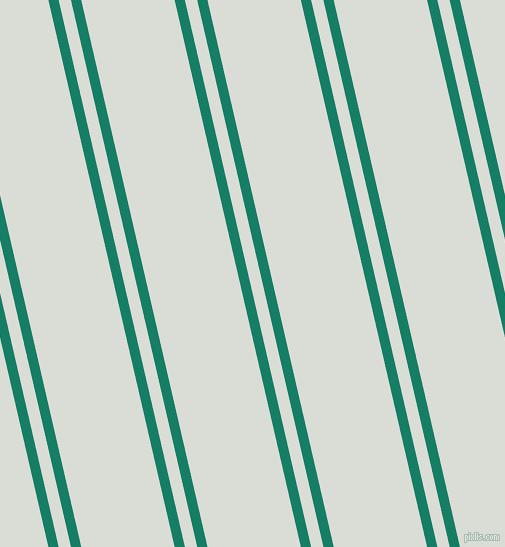 103 degree angle dual striped line, 10 pixel line width, 12 and 91 pixel line spacing, Deep Sea and Aqua Haze dual two line striped seamless tileable