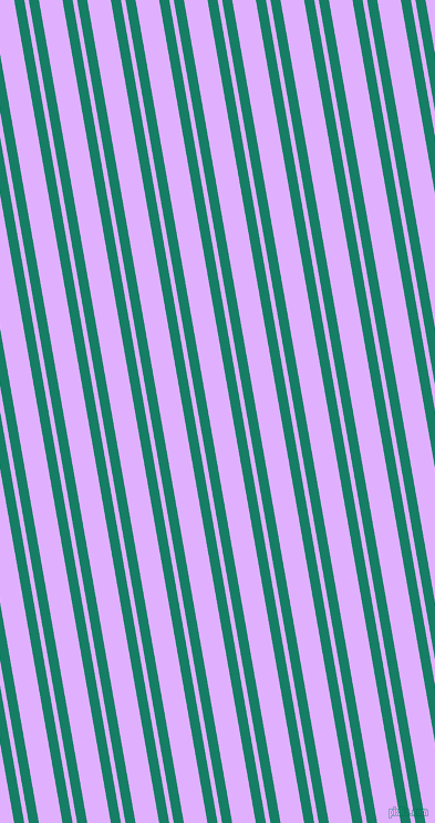 100 degree angles dual stripe lines, 9 pixel lines width, 4 and 21 pixels line spacing, Deep Sea and Mauve dual two line striped seamless tileable