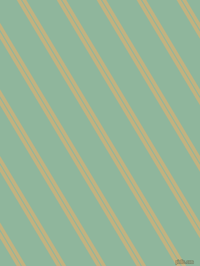 121 degree angles dual stripes line, 7 pixel line width, 2 and 51 pixels line spacing, Ecru and Summer Green dual two line striped seamless tileable