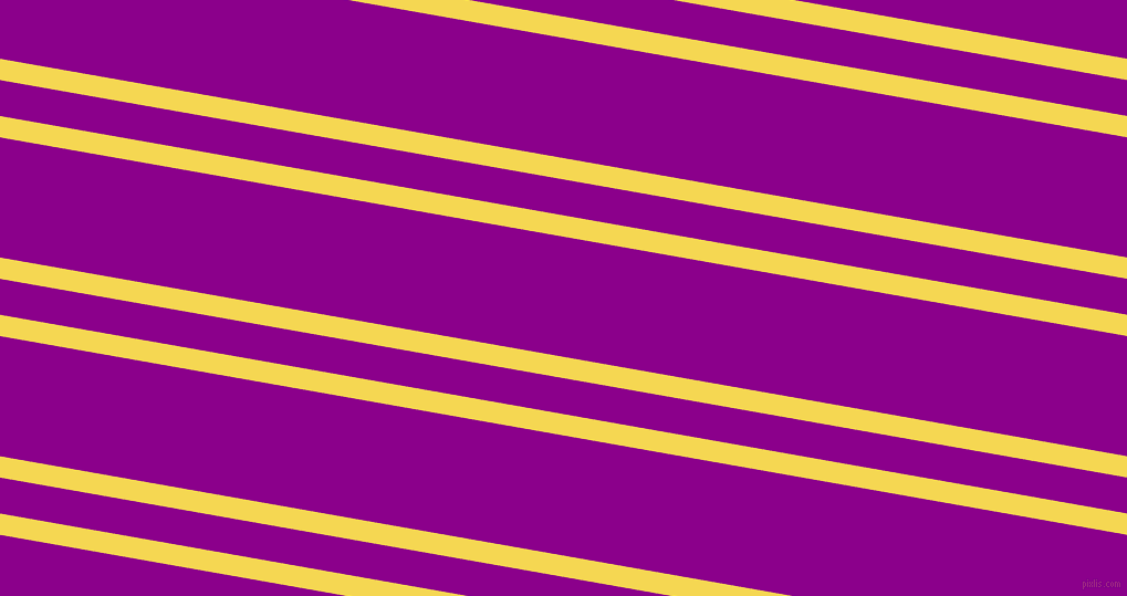170 degree angle dual stripe line, 19 pixel line width, 32 and 107 pixel line spacing, Energy Yellow and Dark Magenta dual two line striped seamless tileable