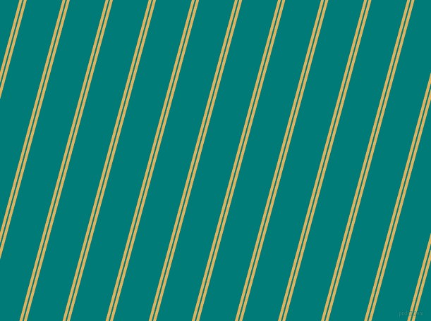 75 degree angles dual stripes line, 4 pixel line width, 2 and 49 pixels line spacing, Equator and Surfie Green dual two line striped seamless tileable
