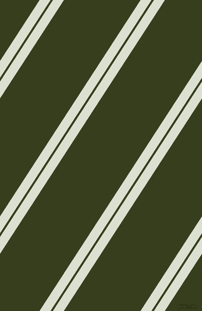 57 degree angles dual striped lines, 18 pixel lines width, 4 and 126 pixels line spacing, Feta and Turtle Green dual two line striped seamless tileable