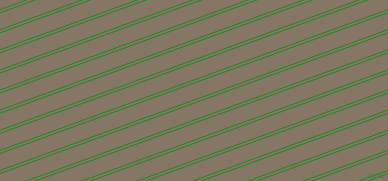 20 degree angle dual stripes line, 2 pixel line width, 4 and 30 pixel line spacing, Forest Green and Sand Dune dual two line striped seamless tileable