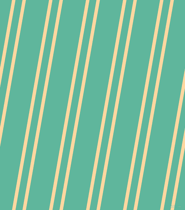 80 degree angle dual striped line, 11 pixel line width, 22 and 73 pixel line spacing, Frangipani and Keppel dual two line striped seamless tileable