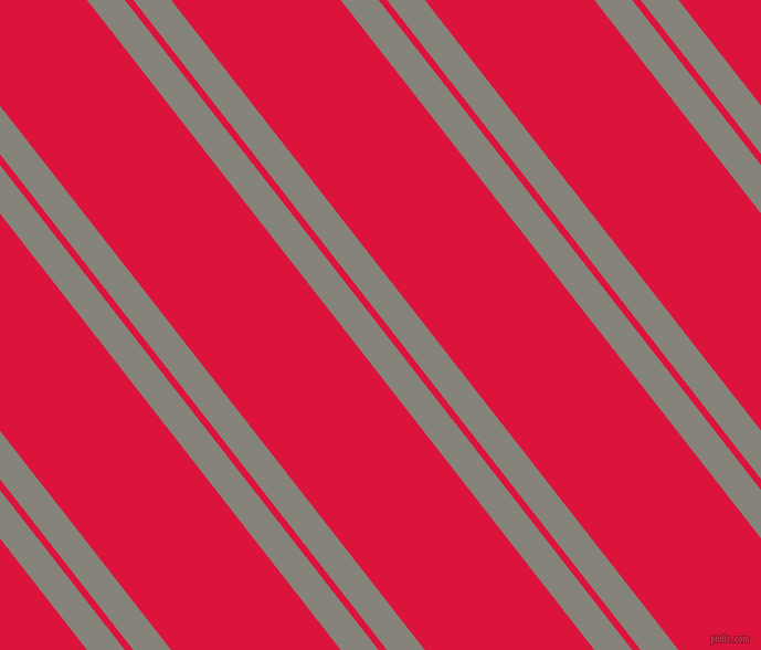 128 degree angles dual stripes line, 27 pixel line width, 6 and 121 pixels line spacing, Friar Grey and Crimson dual two line striped seamless tileable