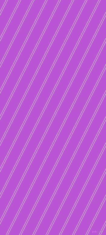 63 degree angles dual stripe line, 1 pixel line width, 4 and 33 pixels line spacing, Frosted Mint and Medium Orchid dual two line striped seamless tileable