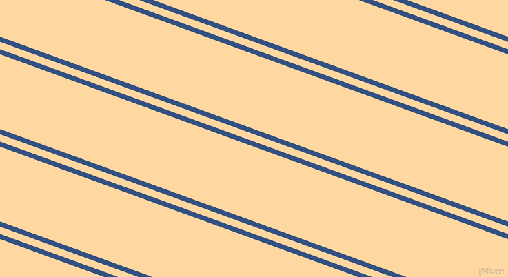 160 degree angle dual stripe lines, 7 pixel lines width, 10 and 102 pixel line spacing, Fun Blue and Frangipani dual two line striped seamless tileable