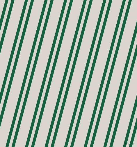75 degree angles dual striped line, 10 pixel line width, 10 and 35 pixels line spacing, Fun Green and White Pointer dual two line striped seamless tileable
