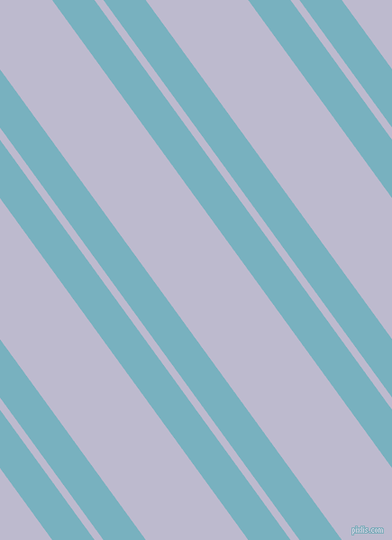 126 degree angles dual stripes line, 38 pixel line width, 8 and 92 pixels line spacing, Glacier and Blue Haze dual two line striped seamless tileable
