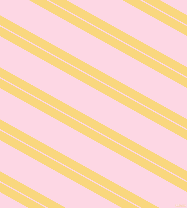 151 degree angle dual striped line, 27 pixel line width, 4 and 87 pixel line spacingGolden Glow and Pig Pink dual two line striped seamless tileable