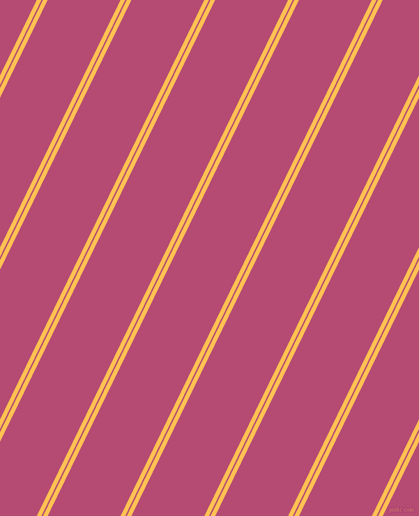 64 degree angle dual striped lines, 6 pixel lines width, 2 and 94 pixel line spacing, Golden Tainoi and Royal Heath dual two line striped seamless tileable