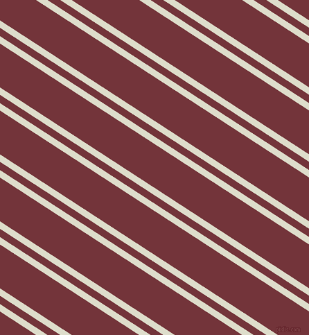 147 degree angle dual striped lines, 9 pixel lines width, 10 and 53 pixel line spacing, Green White and Merlot dual two line striped seamless tileable