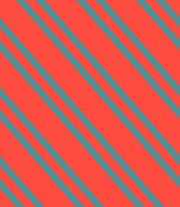 131 degree angle dual stripes lines, 24 pixel lines width, 28 and 83 pixel line spacing, Half Baked and Sunset Orange dual two line striped seamless tileable