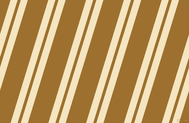 73 degree angles dual stripes line, 23 pixel line width, 10 and 66 pixels line spacing, Half Colonial White and Buttered Rum dual two line striped seamless tileable