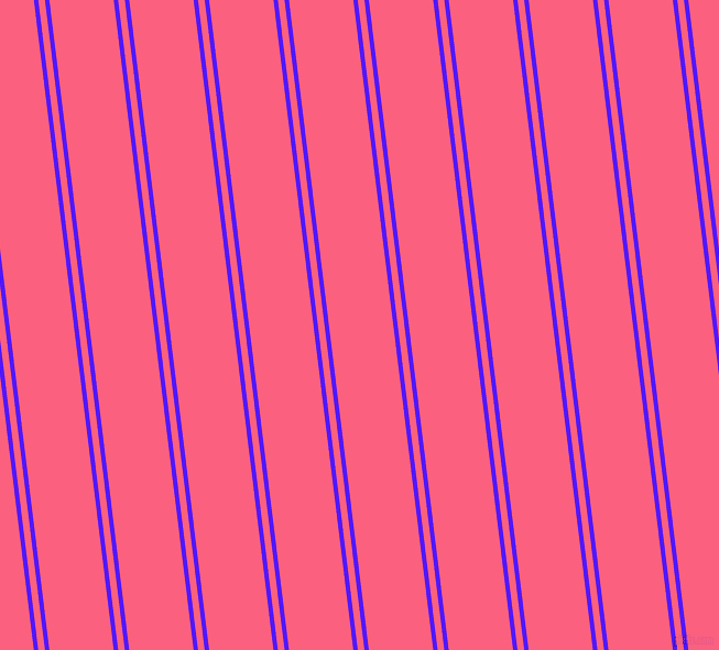 97 degree angles dual striped lines, 4 pixel lines width, 6 and 58 pixels line spacing, Han Purple and Brink Pink dual two line striped seamless tileable