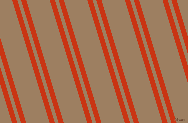 107 degree angle dual striped line, 17 pixel line width, 12 and 76 pixel line spacing, Harley Davidson Orange and Sorrell Brown dual two line striped seamless tileable