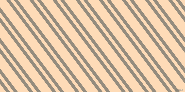 127 degree angle dual stripe line, 13 pixel line width, 12 and 37 pixel line spacing, Heathered Grey and Sandy Beach dual two line striped seamless tileable